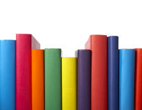 Colorful books stack education Stock Image