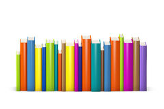 Colorful books Royalty Free Stock Image