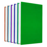 Colorful books on white background Royalty Free Stock Photo