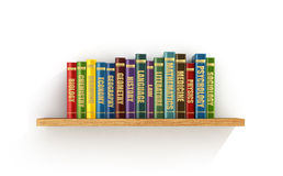 Colorful books Royalty Free Stock Images