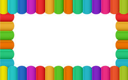 Colorful border design Stock Image