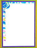 Colorful  Border/Frame Royalty Free Stock Photos