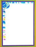 Colorful Border/Frame royalty free stock photos