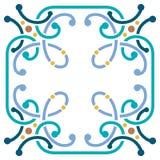 Colorful border frame Stock Image