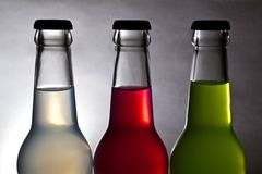 Colorful bottle Royalty Free Stock Photos