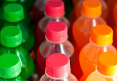 Colorful bottle Stock Images