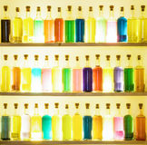 Colorful bottles Stock Photo
