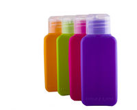 Colorful bottles Stock Images