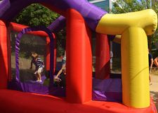 Colorful Bounce House Royalty Free Stock Images