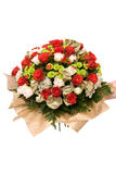 Colorful bouquet. Big colorful bouquet with many flowers Stock Photos