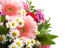 Colorful bouquet stock photography