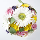 Colorful bouquet of flowers Stock Images