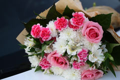 Colorful bouquet of fresh flowers Stock Images