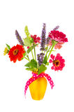 Colorful bouquet garden flowers Royalty Free Stock Photo