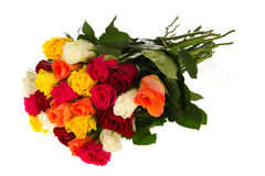 Colorful bouquet roses Stock Photography