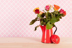 Colorful bouquet roses Royalty Free Stock Images
