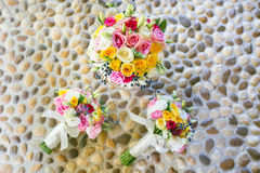 Colorful bouquet of roses Royalty Free Stock Photos