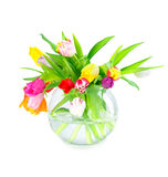Colorful bouquet of tulips Royalty Free Stock Photography