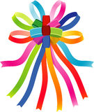 Colorful Bow Royalty Free Stock Images