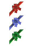 Colorful bow collection Royalty Free Stock Image