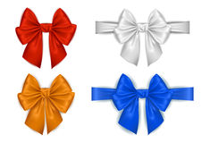 Colorful bow collection Stock Images
