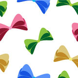 Colorful Bow Pattern Stock Photos