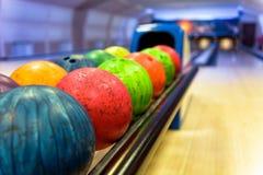 Free Colorful Bowling Balls Stock Photo - 95408030