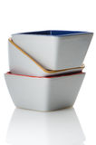 Colorful bowls Royalty Free Stock Image