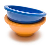 Colorful Bowls Stock Image