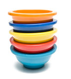 Colorful Bowls Stock Images