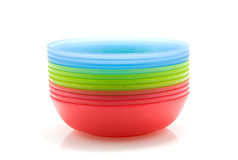 Colorful bowls Royalty Free Stock Images