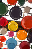 Colorful Bowls Royalty Free Stock Photography