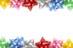 Colorful bows Royalty Free Stock Photos