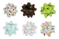 Colorful Bows Stock Image
