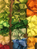 Colorful bows Royalty Free Stock Photography