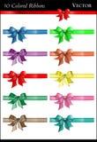 Colorful Bows Stock Photos