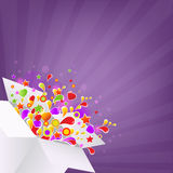 Colorful Box Royalty Free Stock Image