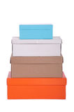 Colorful boxes Stock Photo