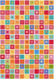 Colorful boxes background Royalty Free Stock Photography