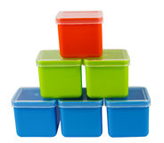 Colorful boxes Royalty Free Stock Photos