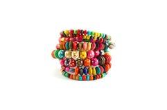 Colorful bracelet Stock Photos