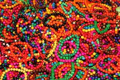 Colorful bracelets Stock Image