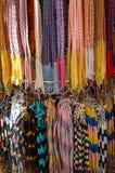 Colorful bracelets stock photos