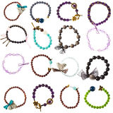 Colorful bracelets Royalty Free Stock Photography