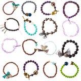 Colorful bracelets Royalty Free Stock Photography