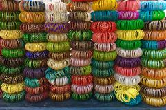 Colorful bracelets Also know as chudi in india Royalty Free Stock Photo