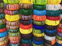 Colorful bracelets Also know as chudi in india Royalty Free Stock Images