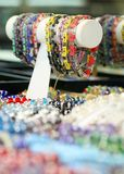 Colorful Bracelets on Display Royalty Free Stock Photo