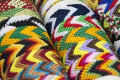 Colorful bracelets Royalty Free Stock Image