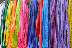 Colorful Bracelets Ribbons Royalty Free Stock Photos